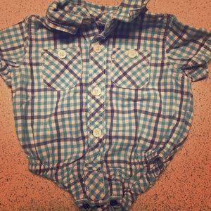 Boys Gap dress onesie